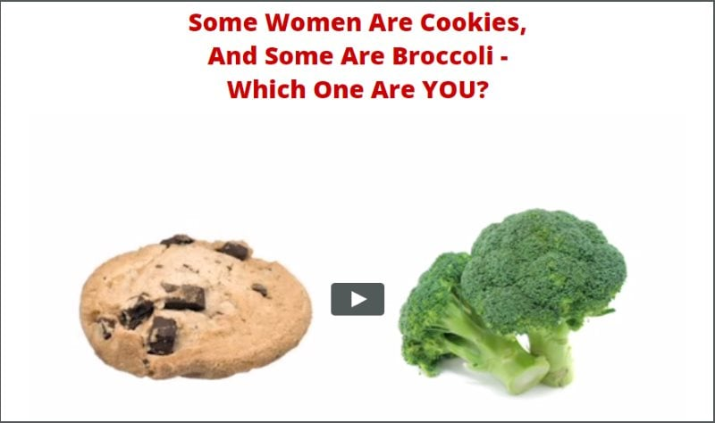 Women Cookie Broccoli Theory