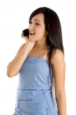 Is she calling the guy you're dating all the time?