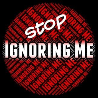 Ignoring women – Do you feel ignored by a guy?