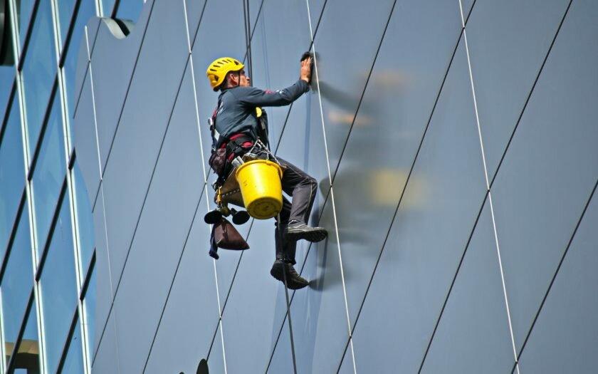 Man Climb Hard Get