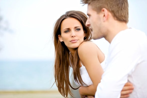 Man Afraid Of Relationship Woman Confused