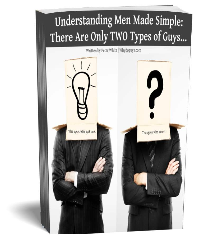 Understand Men Simple Two Type Guy Cover