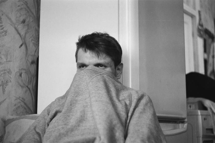 Man Hiding Face Feeling Ugly