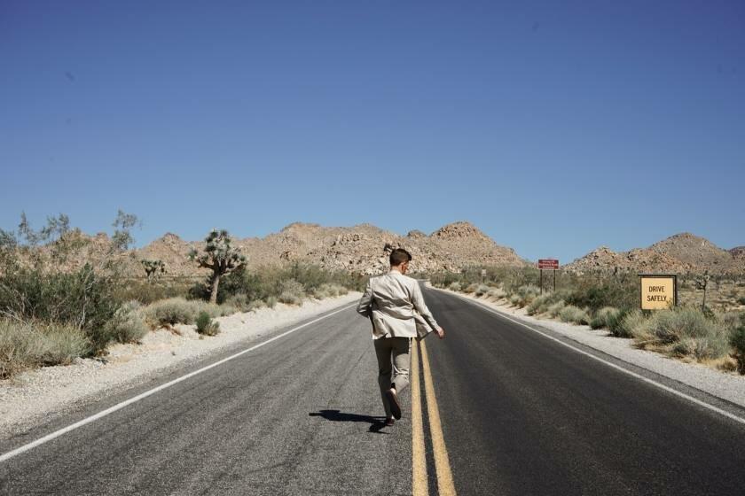 Nice Guy Running Away