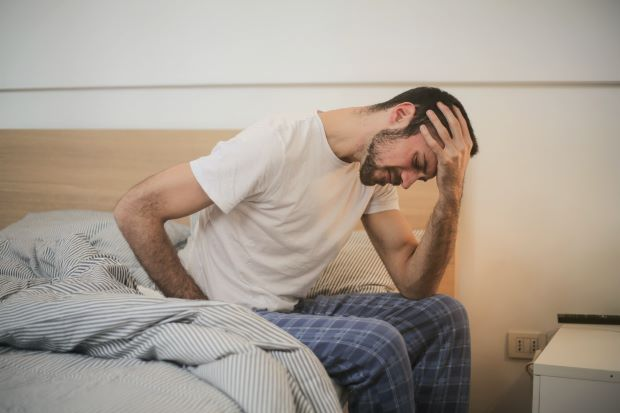 Man Pain Getting Out Of Bed