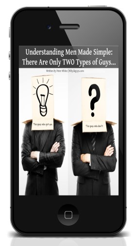 Understand Men Simple Two Type Guy Phone Cover
