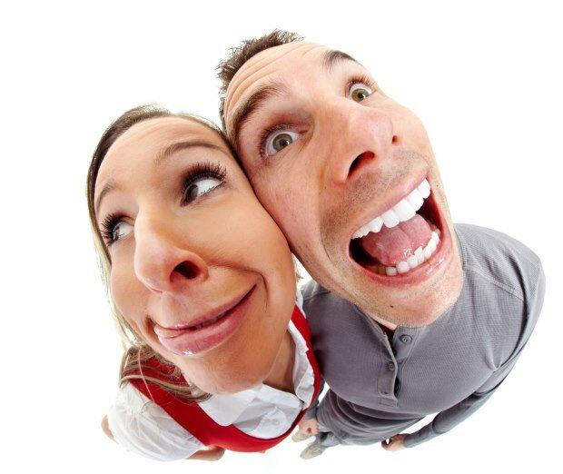 Unattractive Happy Couple