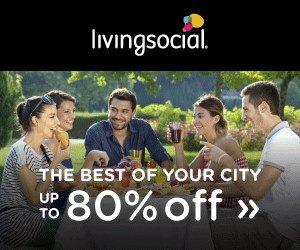 Living Social Banner